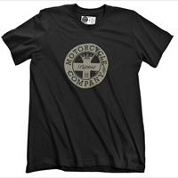 T.SHIRT ISTITUZIONALE MOTORCYCLE COMPANY PARMA - NERA LOGO CREME