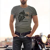 T.SHIRT TOM BROS - FEEL THE MOOD OF MOTORCYCLE