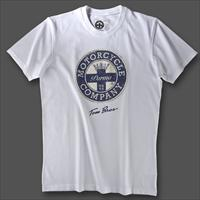 T.SHIRT - LOGO PATCH BLUE TOM BROS